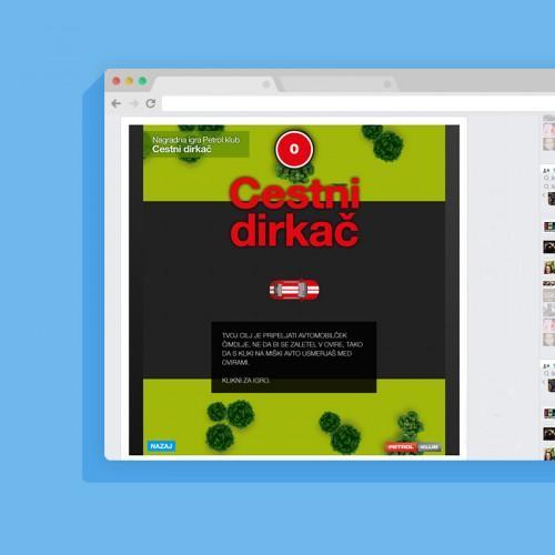 cestni-dirkac-browser